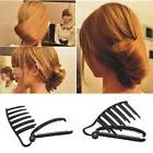 Magic Women DIY Hair Styling Updo Bun Comb Clip Set For Hair