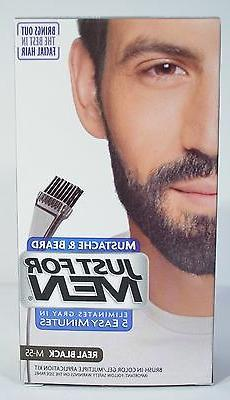 JUST FOR MEN MUSTACHE & BEARD BRUSH-IN COLOR GEL APPLICATION