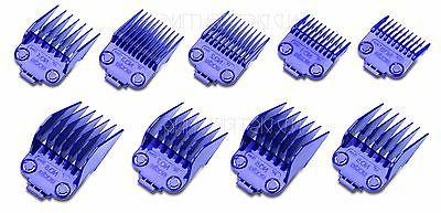 Andis Nano DOUBLE Magnetic Barber Guards Combs Guides 9 SET