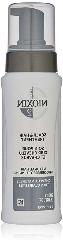 Nioxin Scalp Treatment For Fine Hair System 2 For Hair , 6.7