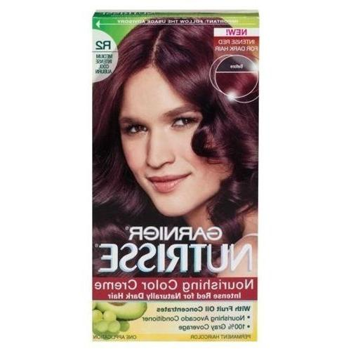 Garnier Nutrisse Haircolor, R2 Medium Intense Auburn Nourish