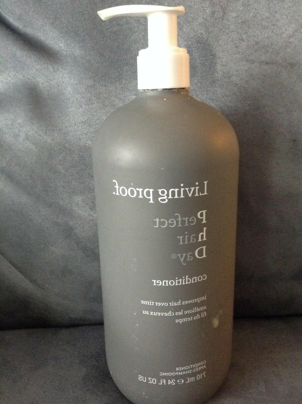 LIVING PROOF PERFECT HAIR DAY CONDITIONER 24 OZ - USED 80% F