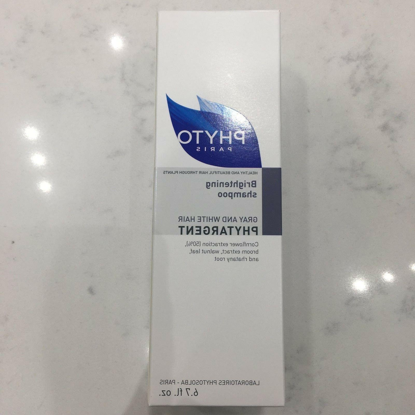 Phyto Phytargent Whitening Shampoo, Gray and White Hair