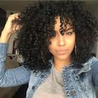 Synthetic Afro Curly Hair Wigs for Black Woman Short Kinky H