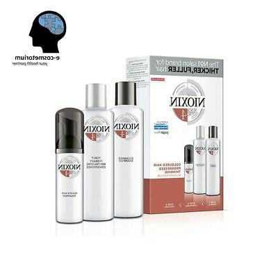 Nioxin System 2 Noticeably Thinning for Fine Hair Kit, 3 Pie