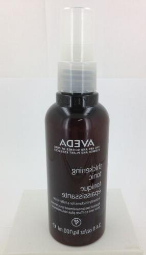 Aveda thickening tonic All Hair Types and Organic 3.4 fl oz