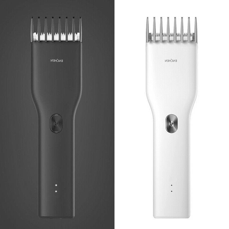 usbrechargeable cordless professional hairclipper electric b