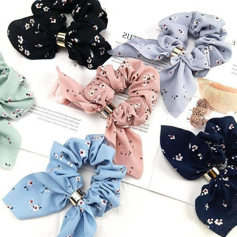 Women Simple Satin Bow Rope Holder