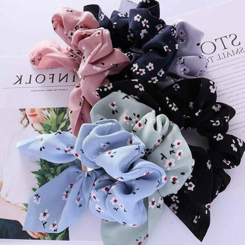 Women Ribbon Bow Hair Holder for Accessories