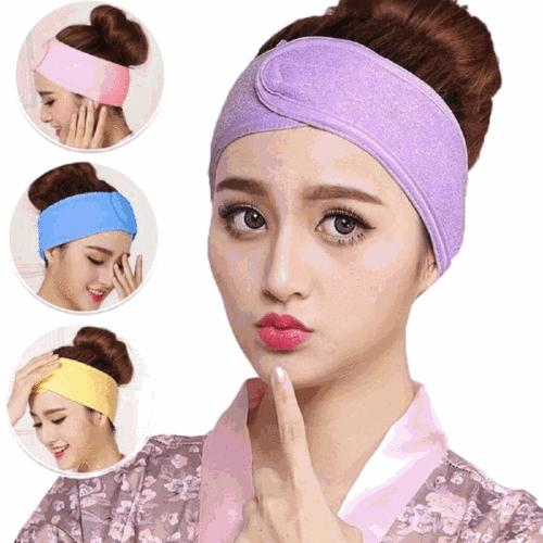 Women Towel Wrap Headband Spa For Sport Make