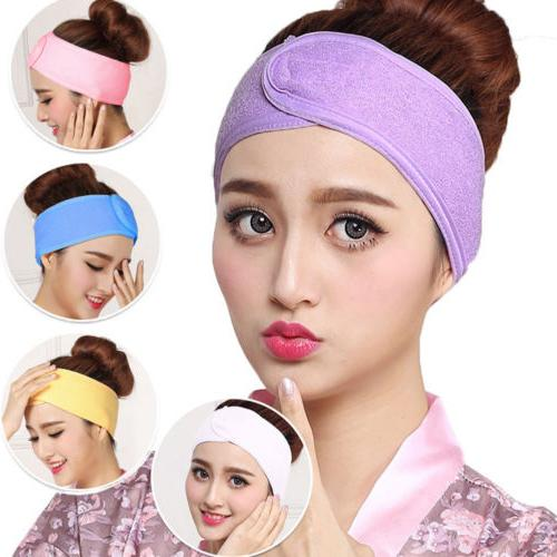 women towel hair band wrap wide headband