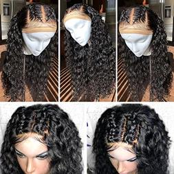 GAMAY HAIR Full Lace Wigs Human Hair 130%-180% Density Curly