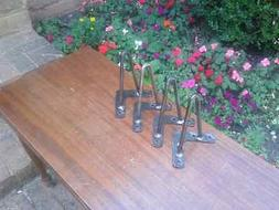 Little 6 Inch Hairpin Legs - Optional Beeswax coating