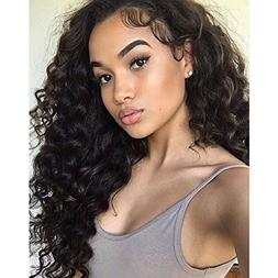 Am Youth Loose Wave Full Lace Human Hair Wigs - Glueless Bra