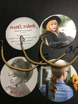 Lot 3 Hair Bungee for ponytails - Stop Pulls& Breakage Blond