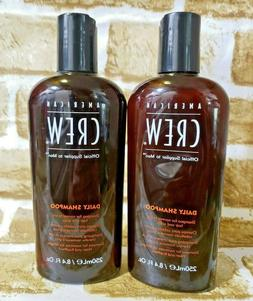 Lot of 2 American Crew Daily Shampoo for Normal to Oily Hair