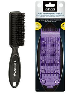 Andis Master Dual Magnet 5-Comb Set with a BeauWis Blade Bru