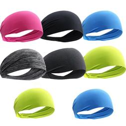Men/Women Sport Sweatband Running Hair Band Fitness Bandage