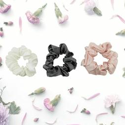 mulberry silk scrunchies for hair hair ties