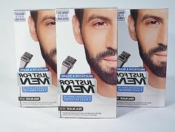 JUST FOR MEN MUSTACHE&BEARD BRUSH-IN COLOR GEL APPLICATION K