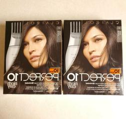 NEW Clairol Perfect 10 Nice N Easy Hair Color Kit Lot of 2 B