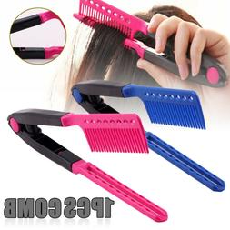 New Straight Hair Comb Brush Tool For Dry Iron Hair Curl to
