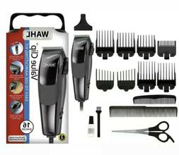 NEW WAHL VALUE CLIP 9155-1701 Professional Haircut Kit Clipp