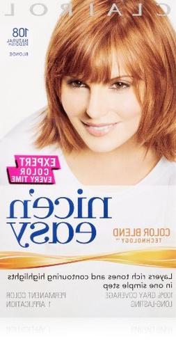 Nice & Easy Hair # 108 Size 1 Kit Clairol Nice & Easy Hair C