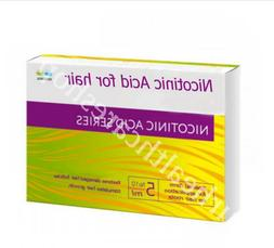 nicotinic acid for hair stimulates and strengthens