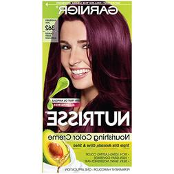 Garnier Nutrisse Nourishing Hair Color Creme, 362 Darkest Be