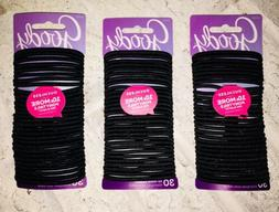 GOODY OUCHLESS No Metal Hair Ties Elastics Pony Tail 90 Coun