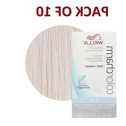 Pack Of 10 - Wella Color Charm Perm Toner #T-18 - Lightest A