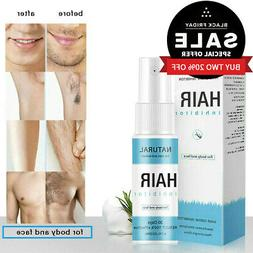 Permanent Hair Removal Spray Stop Hair Growth Inhibitor Remo
