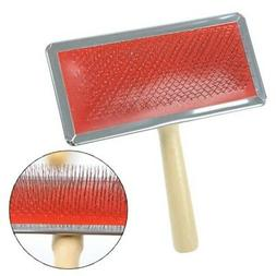 Pet Dog Cat Puppy Hair Brush Pin Fur Grooming Trimmer Comb F