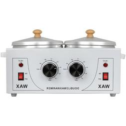 Pro Double Pot Wax Warmer Electric Heater Machine for Hair R