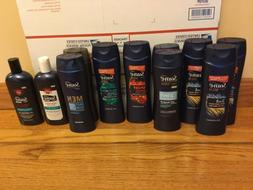 Suave Professionals For Men Body Wash & Shampoos. Lot Of 11