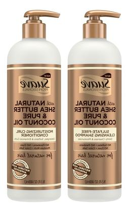 Suave Professionals for Natural Hair Shampoo + Conditioner 1