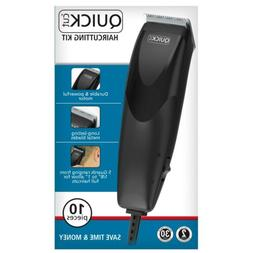 Wahl Quick Cut Clippers 10 Piece Hair Cutting Kit 9314-1501