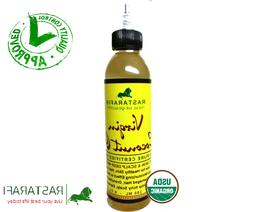 Rastarafi® Premium Organic Coconut Oil For Hair Skin 6 Fl O