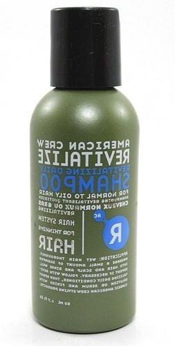 American Crew Revitalize Daily Shampoo for Normal to oily ha