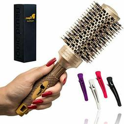 Fagaci Round Brush for Hair Styling, Drying, Healthy Hair an
