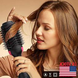 Salon One-Step Hair Dryer and Volumizer Hair Comb 2in1 Hair
