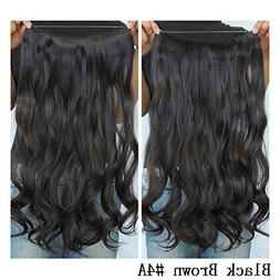 Secret Halo Hair Extensions Flip in Curly Wavy Hair Extensio