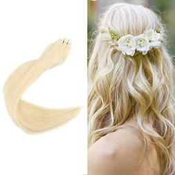 """Full Shine 20"""" 50g Per Package Color #613 Blonde Remy Straig"""