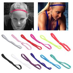 Sport <font><b>Hair</b></font> Band Elastic Anti Slip Yoga E