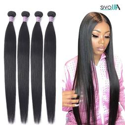 Allove Straight <font><b>Hair</b></font> Bundles Brazilian <