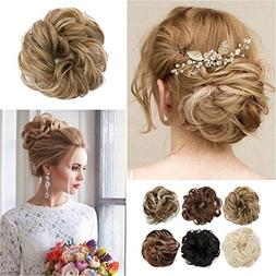Sexybaby Synthetic Hair Bun extension colorful Elegant chign