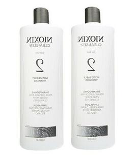 Nioxin System 2 Cleanser for Fine Thinning Hair 33.8 oz