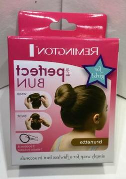 Remington The PERFECT BUN Brunette For Girls Hair Styling Ac