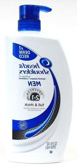 Head and Shoulders Full and Thick 2-in-1 Anti-Dandruff Shamp